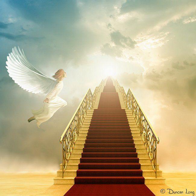 Heavens Gates Jesus Christ Heaven Idea Stairway To Heaven Long