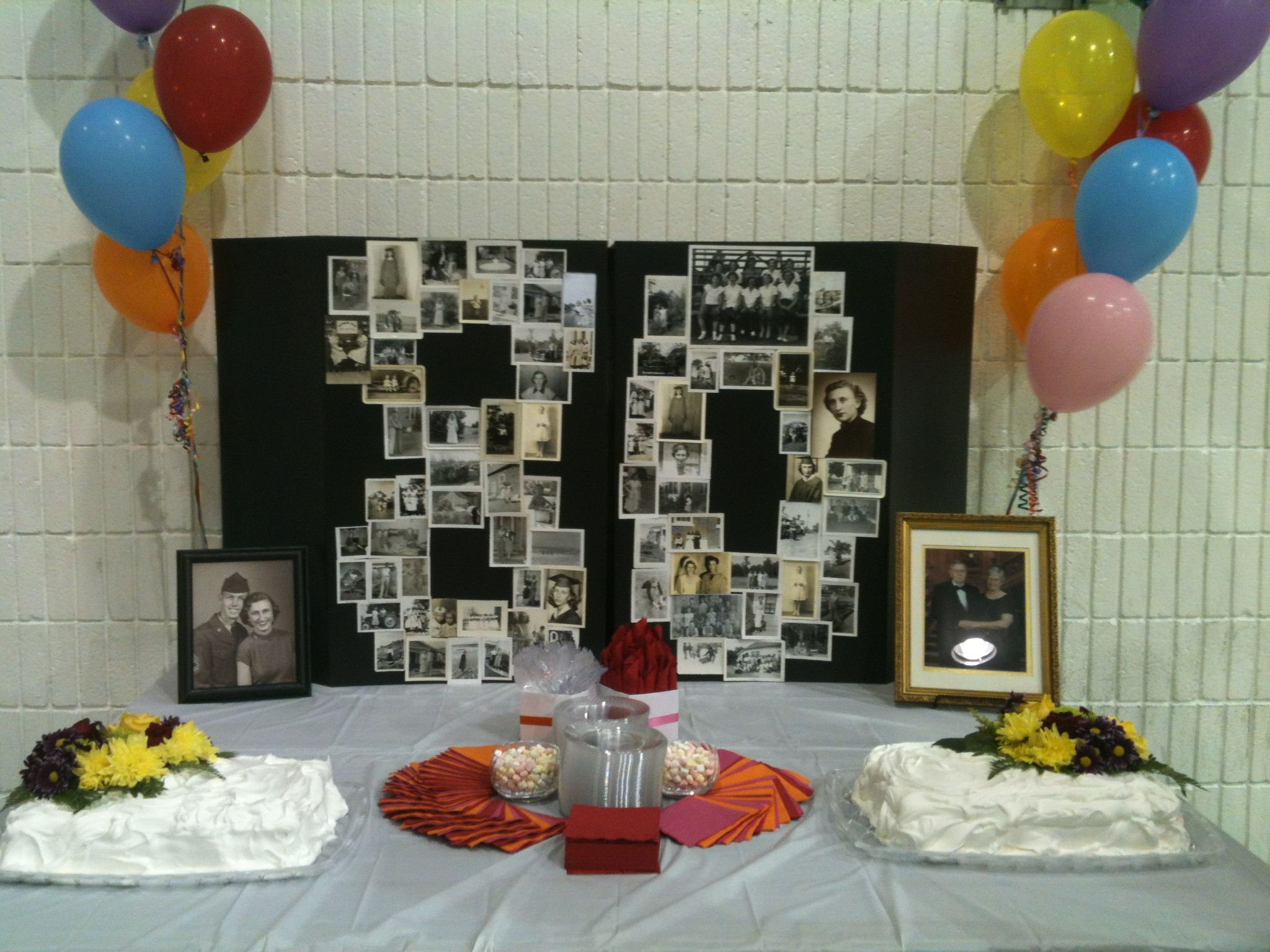 80th Birthday Decoration