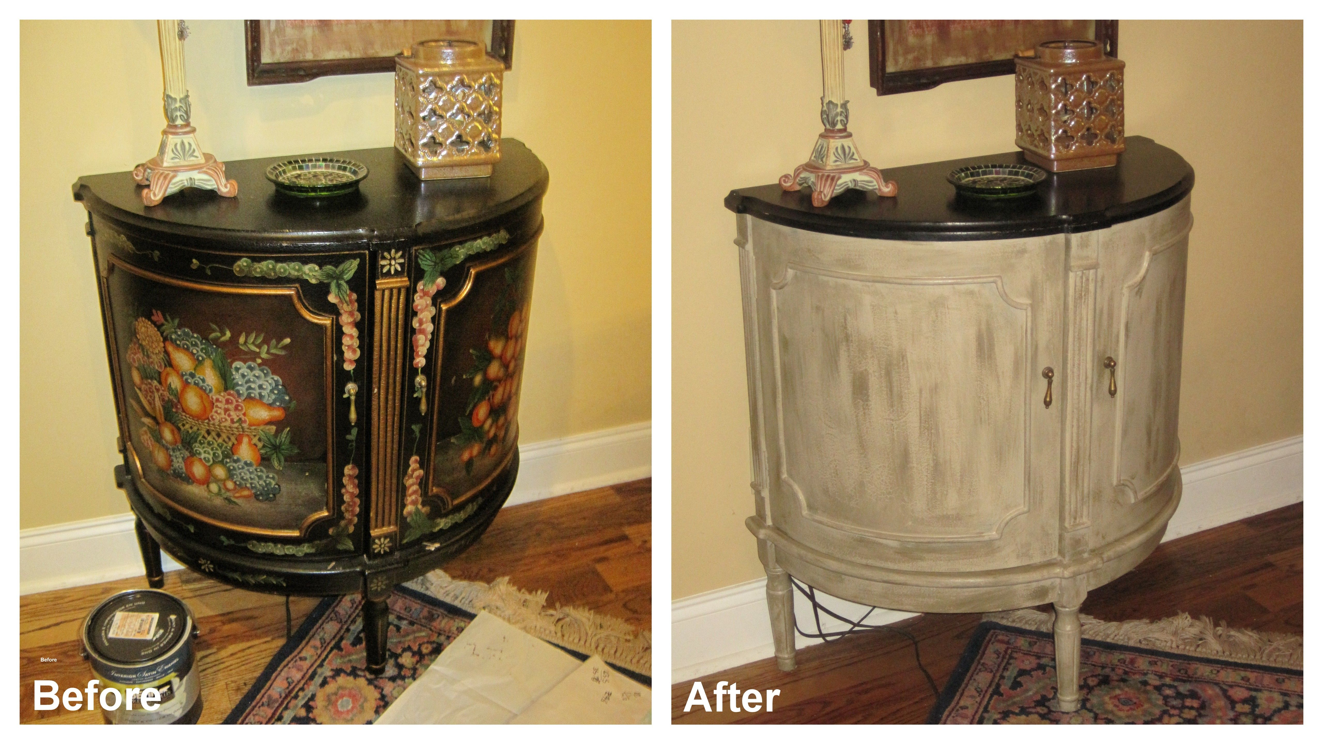 Paint Old Furniture With Behr And Primer In One Change Its Look 30 Minutes