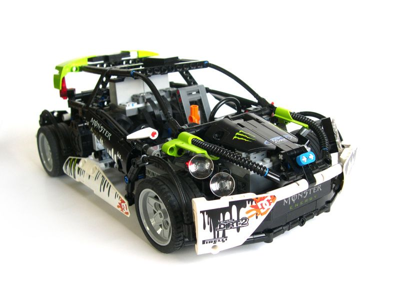 Lego Technic Ford Fiesta Rc Driftcar With Building Instructions