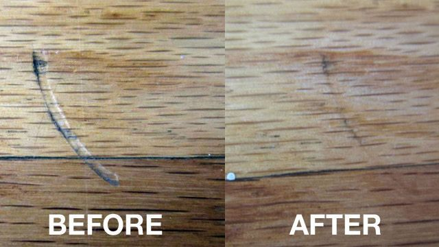 Remove Scratches And Dents Hardwood Floors Iron