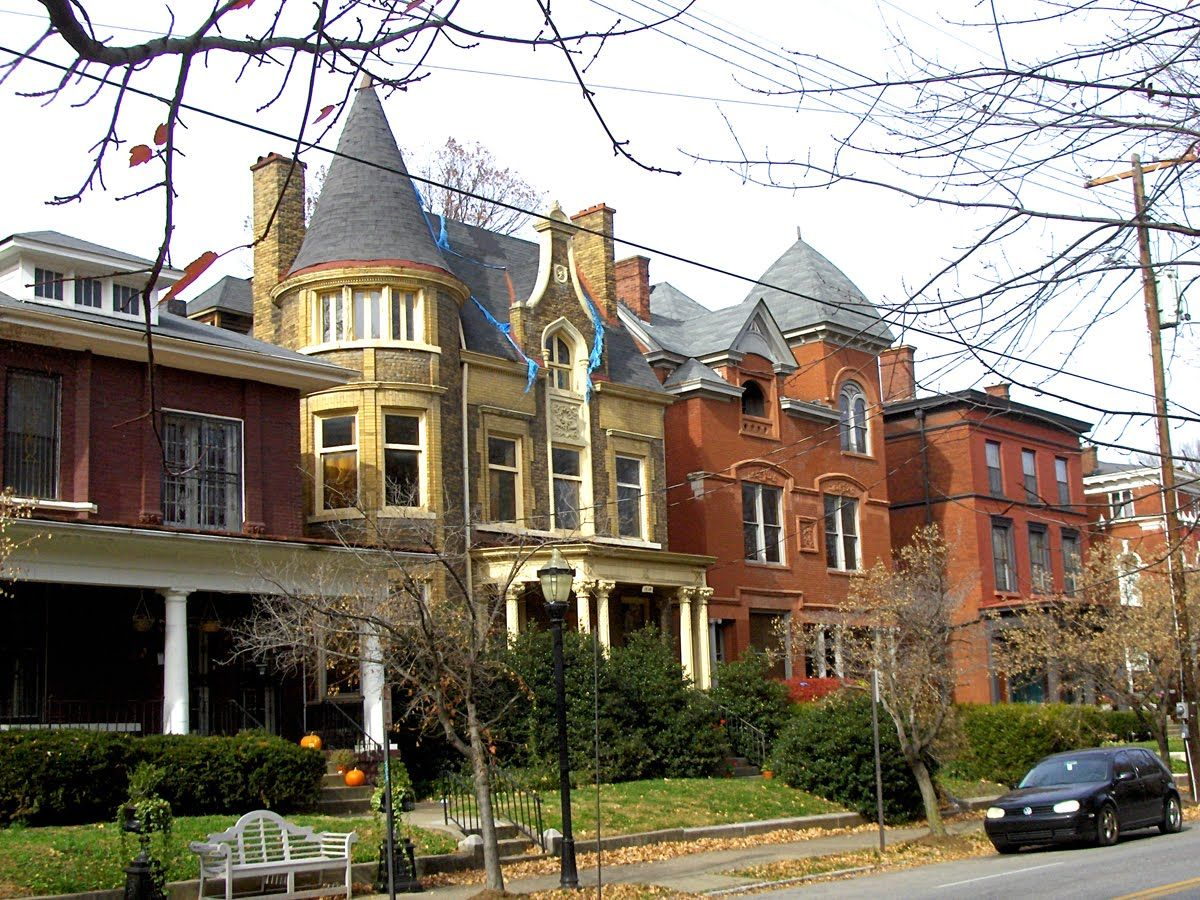 the largest collection of victorian homes in the united states and