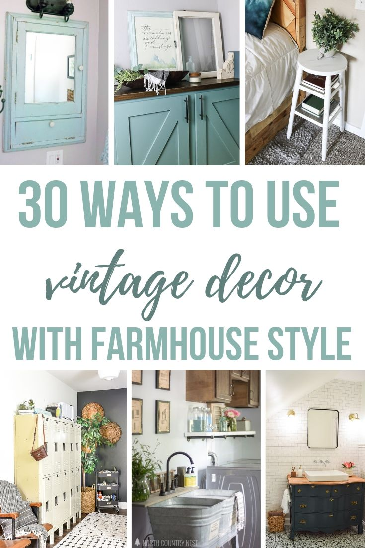 30+ Ways To Incorporate Vintage Decor Into Your Home