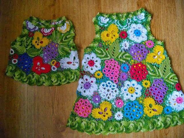 Mis creaciones 25: Algunos Puntos de Crochet