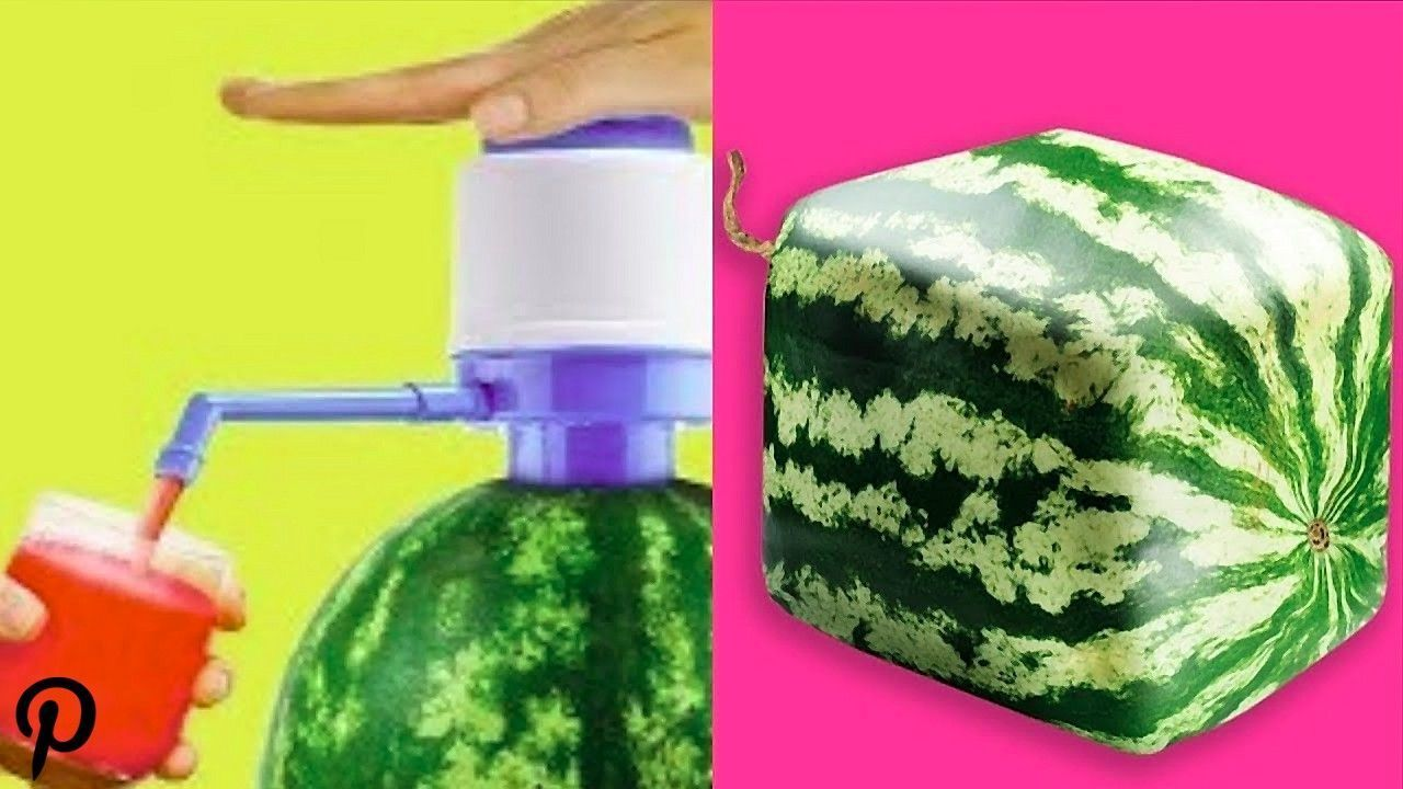 Trying 15 Unbelievably Easy Watermelon Life Hacks By 5 Minute