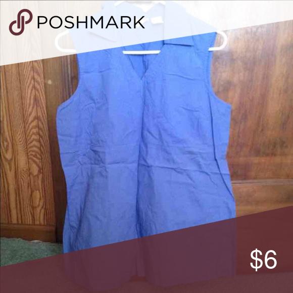 🐤Woman's medium maternity top shirt sleeveless Lots more listed! Smoke free home I bundle ship same day Tops Blouses