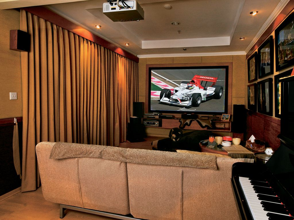 Simple karaoke room can be created in your home with an attractive design according to your passion description from afroglobe net