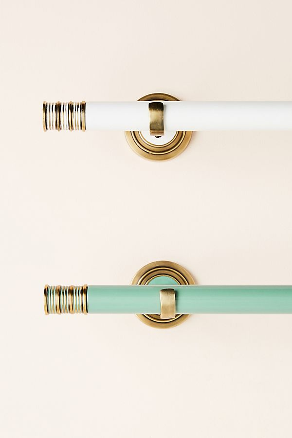 Lexington Curtain Rod By Anthropologie In White Hardware In 2020