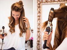 How to Get Big Curls