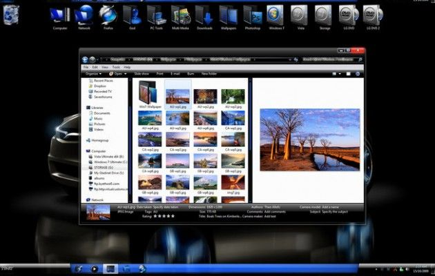 Desktop Themes