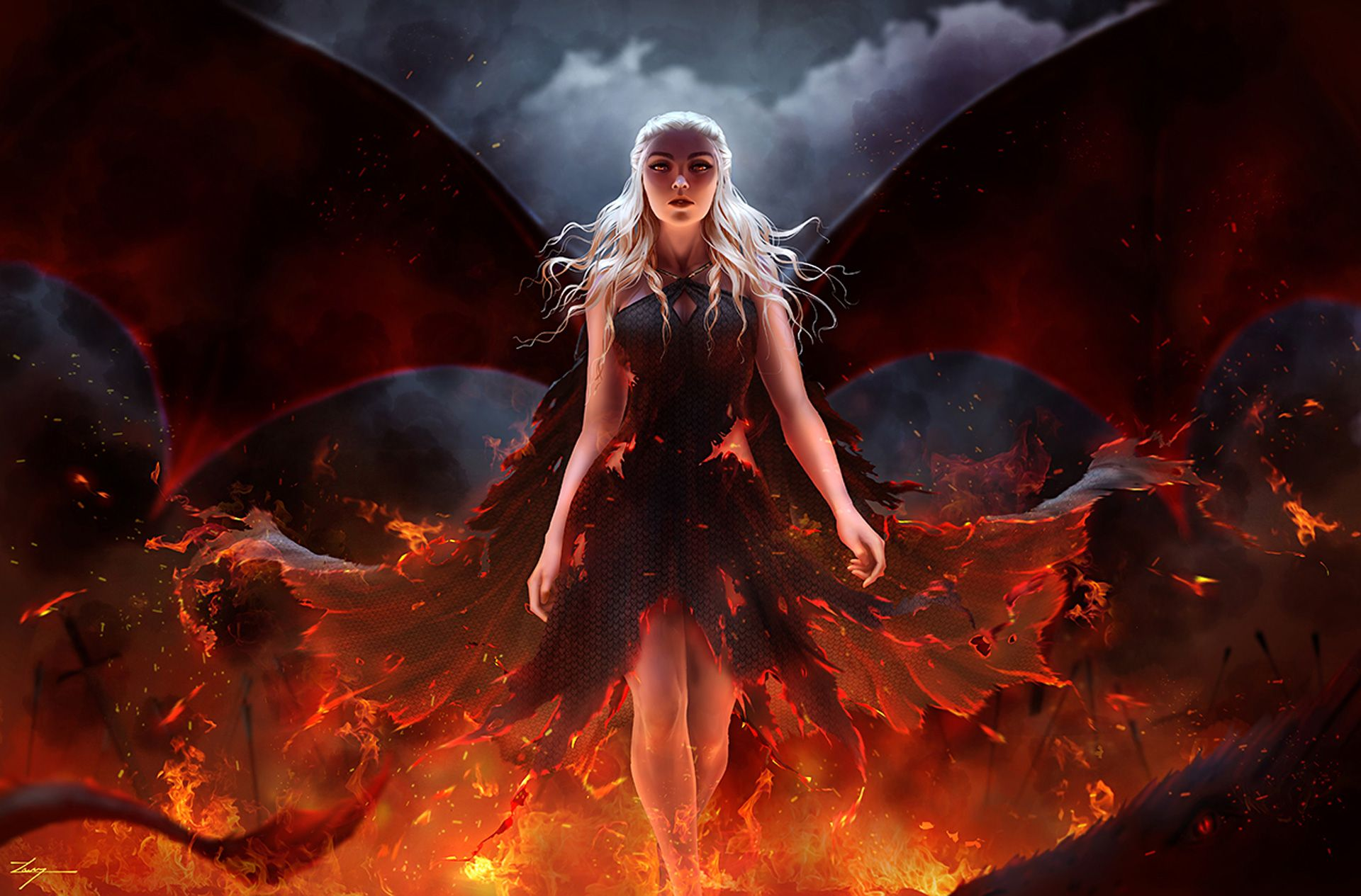 Mother Of Dragons Jp Ultra Hd Wallpaper 2018 Mother Of
