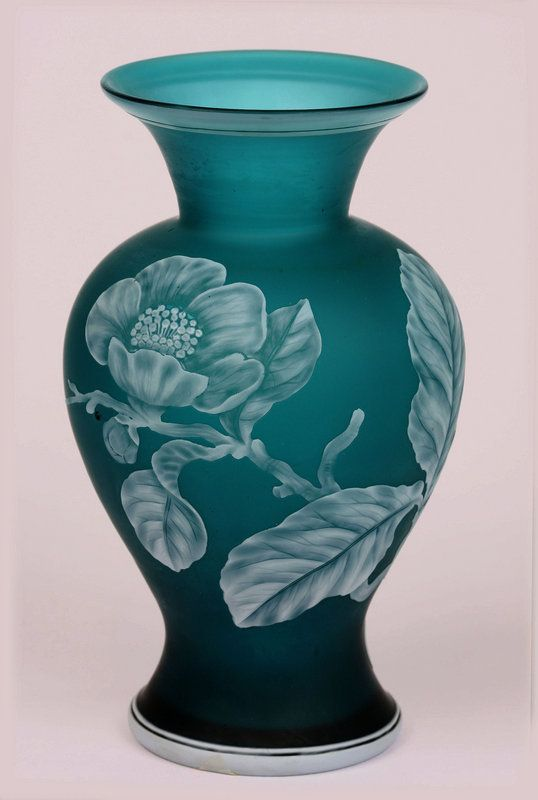 Stevens and Williams Cameo Vase Circa 1900
