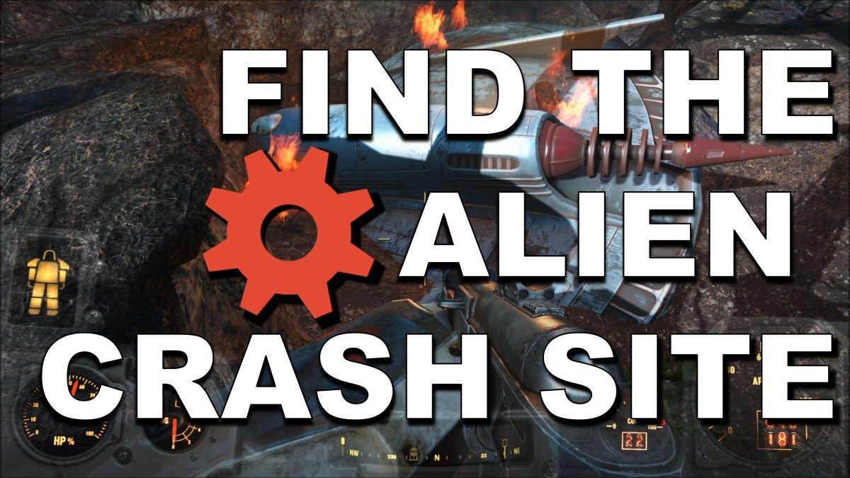Alien Crash Site And Alien Blaster Fallout 4 Fallout Fallout 4 Magazines Alien Blaster