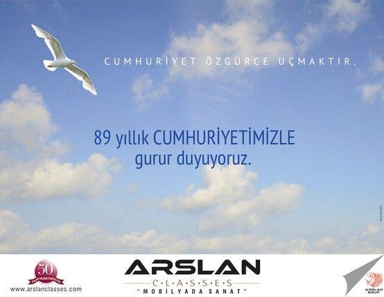 Arslan Classes - Cumhuriyet Özgürce Uçmaktır.