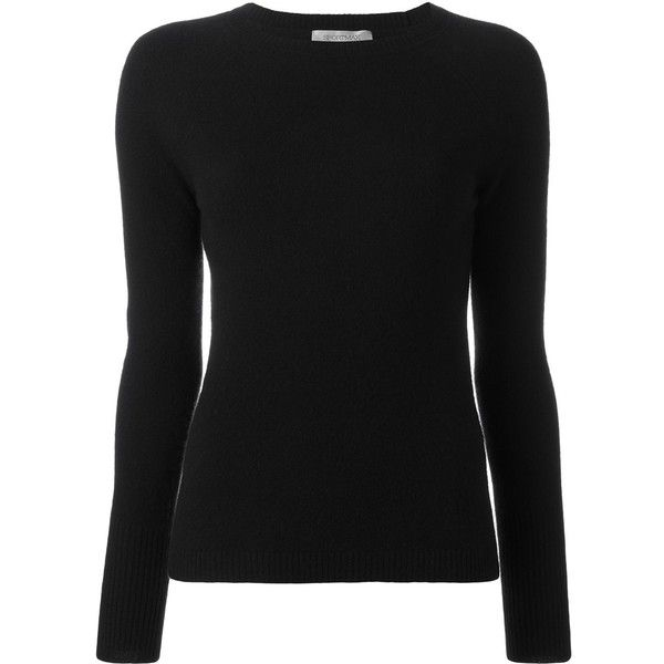 Sportmax classic jumper (13.455 UYU) ❤ liked on Polyvore featuring tops, sweaters and sportmax