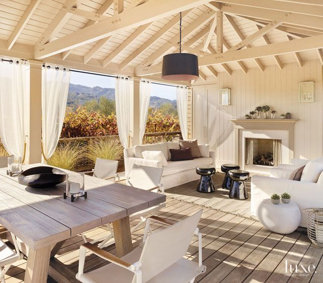 a napa valley residence with a strong outdoor connection huis co pinterest. Black Bedroom Furniture Sets. Home Design Ideas