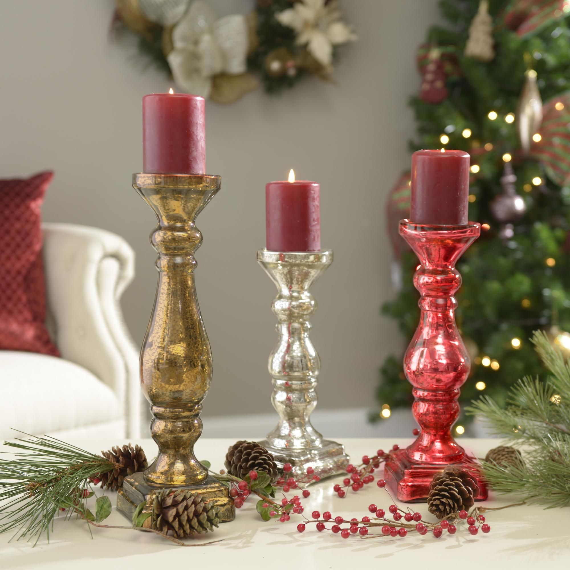 Add Shimmering Christmas Accents To Your Home For The Holidays