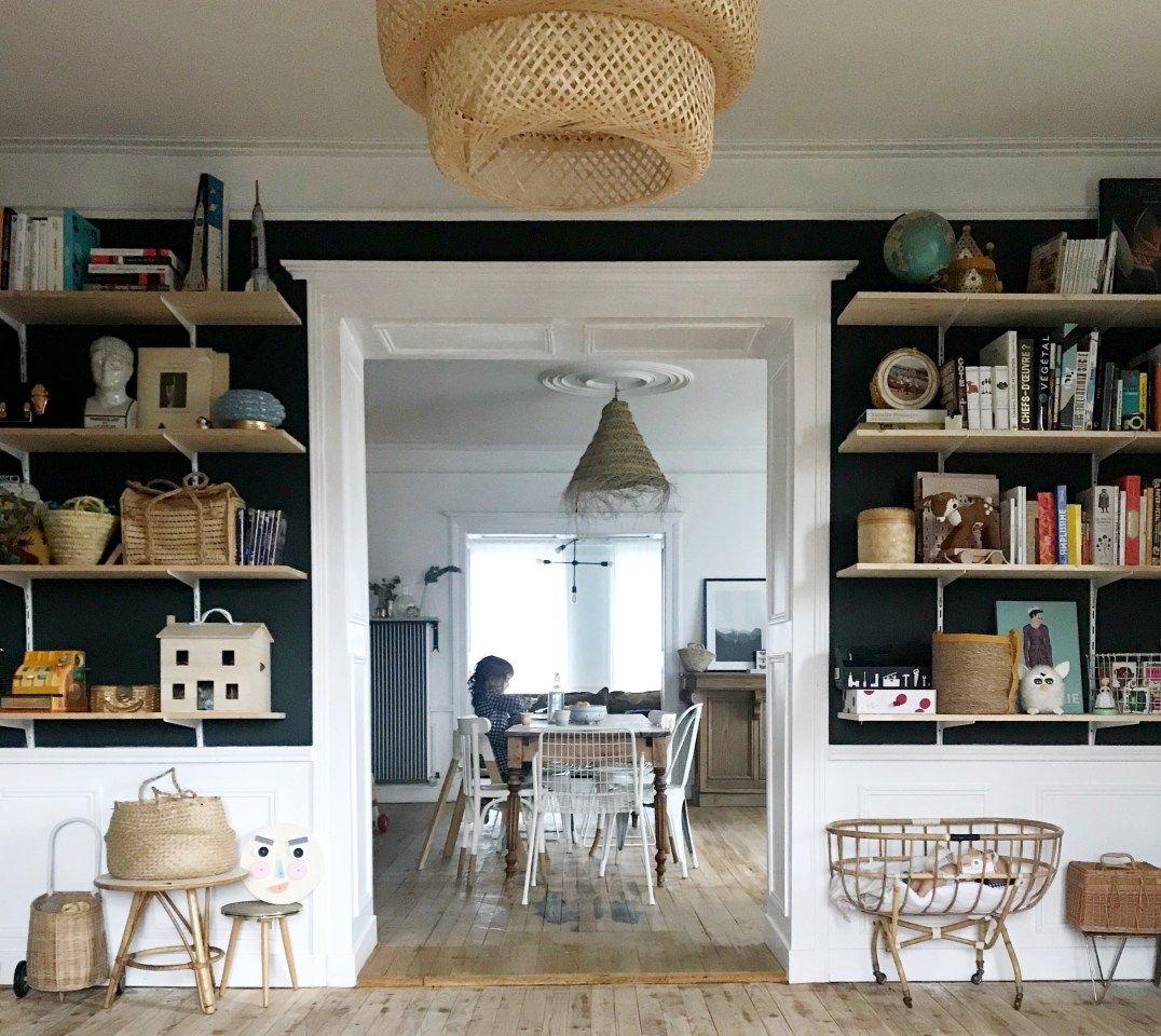 La Renovation D Une Maison Ancienne Par Pauline Instagram Levelorose En 2020 Meuble De Cuisine Ikea Sallon Salle A Manger Maison