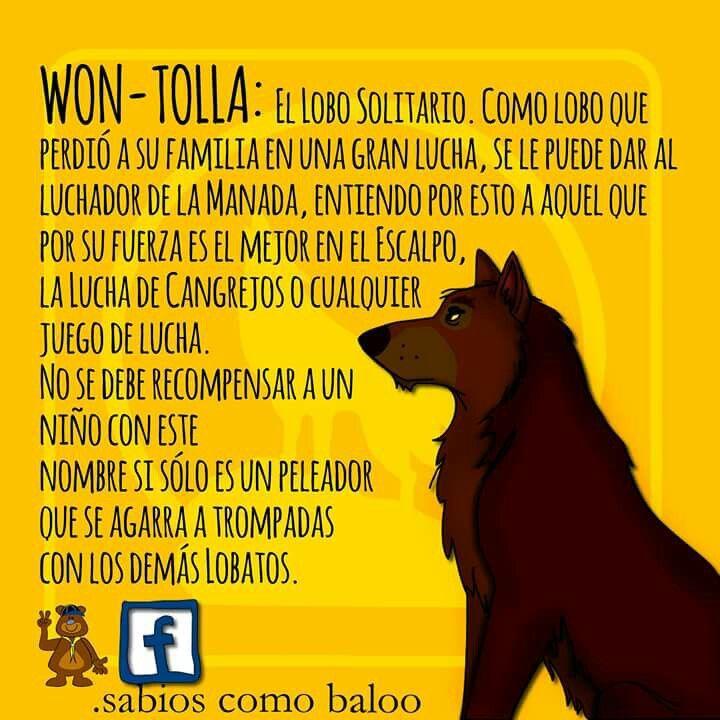 Won Tolla Nombres De Manada Album De Recortes Juegos De