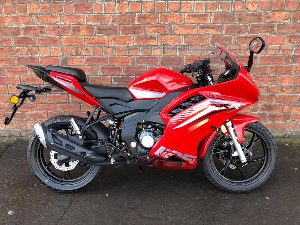 NEW Euro4 Keeway RKR 125 learner legal – own this bike for