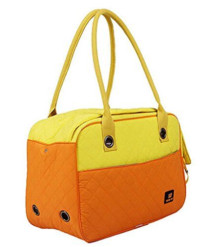 Pet Leso Dodopet Doggie Puppy Portable Handbag Cat Carriers Travel Tote Bag Orange L *** Read more reviews of the product by visiting the link on the image.(This is an Amazon affiliate link and I receive a commission for the sales)