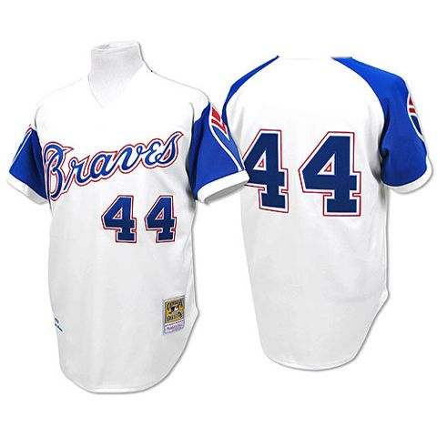 pretty nice 0907b 40e47 Atlanta Braves Throwback Jersey (Hank Aaron) | Fandom | Hank ...
