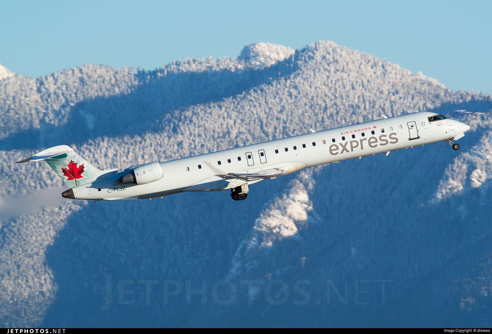Photo of CFLJZ Bombardier CRJ705LR Air Canada