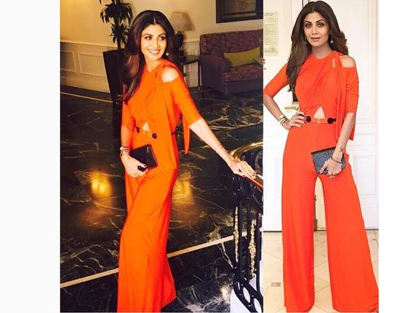 04a9fbf05d70 Shilpa Shetty Wore The Most Fashionable Jumpsuit For Her Latest IIFA Look.
