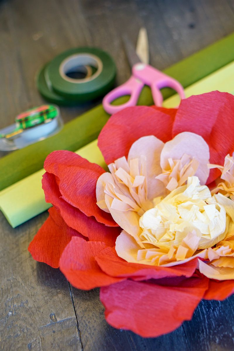 Diy Paper Flower Centerpieces For A Summer Solstice Party In 2018