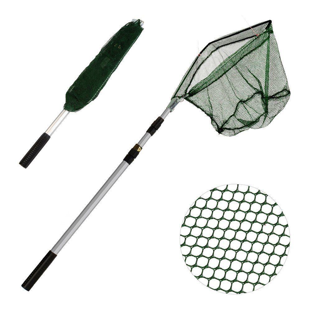 XUNMA Fishing Landing Net with Telescoping Pole Handle,67