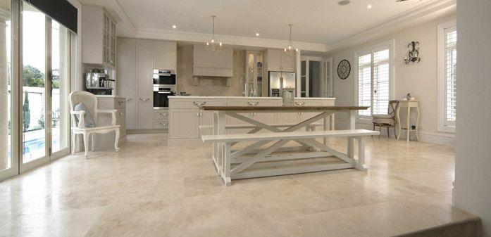 Honed Travertine Natural Stone Floor Tiles Home Pinterest