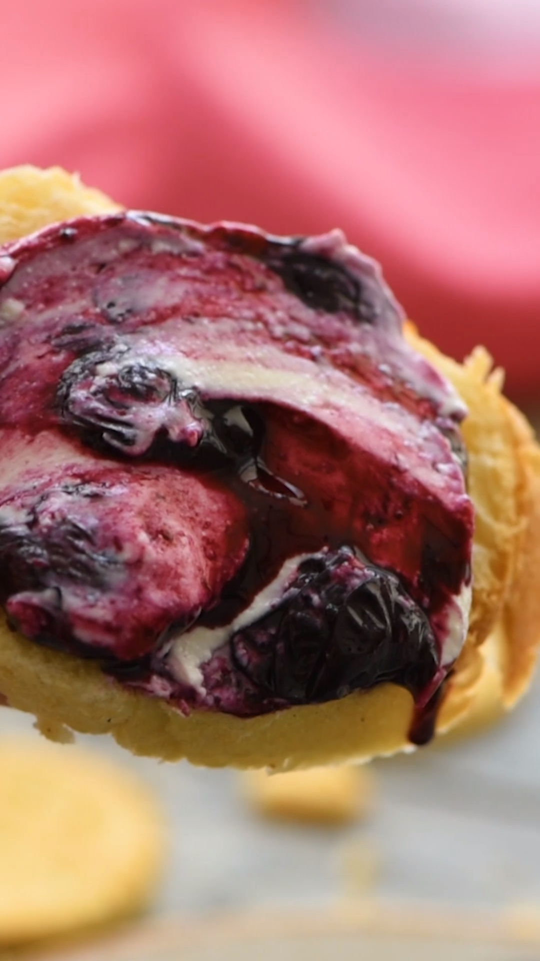 Photo of Blueberry Balsamic Goat Cheese Appetizer