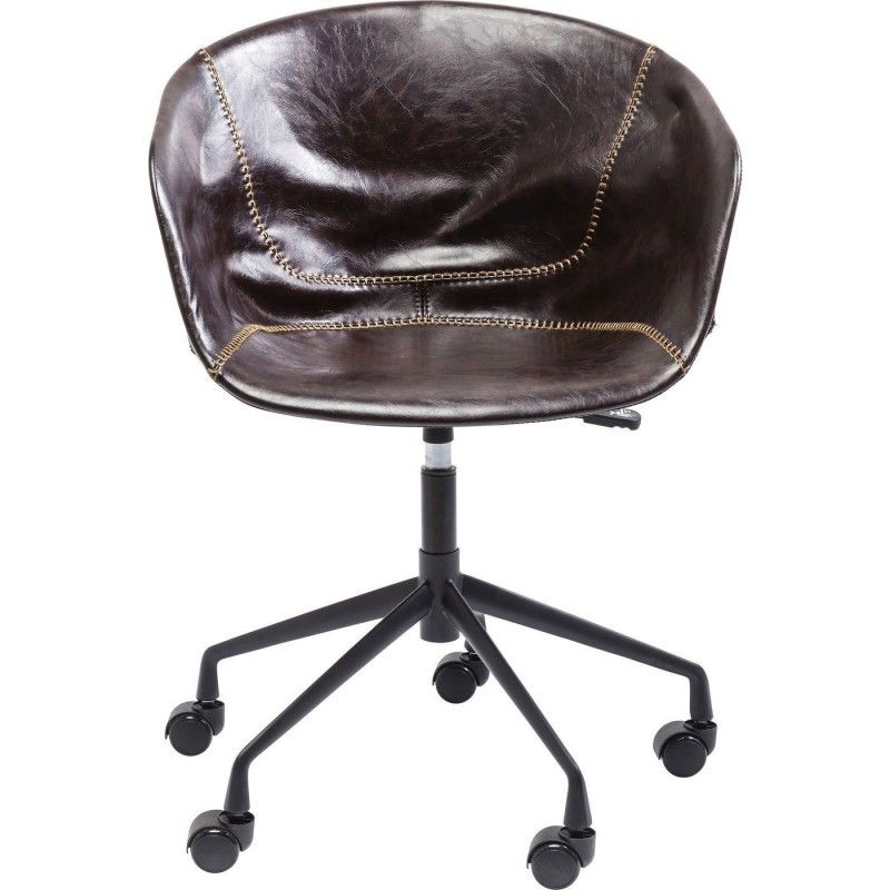 Chaise De Bureau Vintage En Cuir Lounge Kare Design Chaise Bureau Chaise De Bureau Confortable Fauteuil Bureau