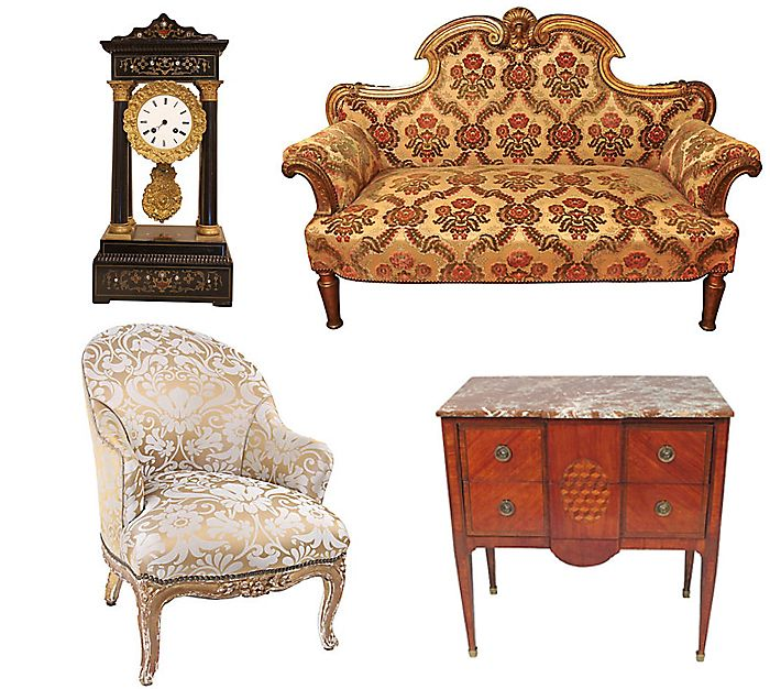 napoleon iii style second empire french furniture lounge 1900s mobilier. Black Bedroom Furniture Sets. Home Design Ideas