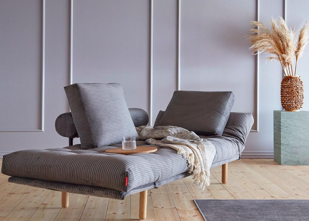 Meridienne Lit 1 Place Ideal Petits Espaces Par Innovation Living En 2020 Canape Lit Design Canape Design Canape Original