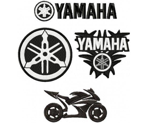 Yamaha Logo Machine Embroidery Design For Instant Download Yamaha