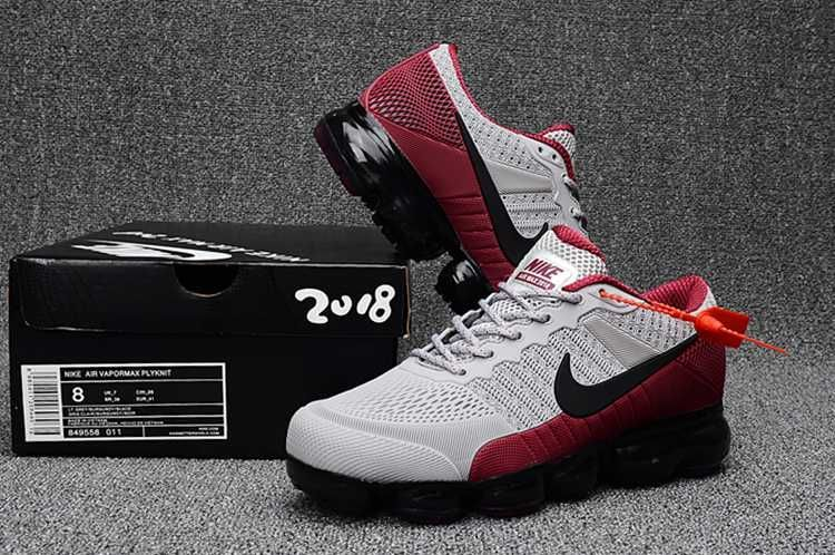 best website 89be6 774e0 Nike Air Max 2018 Running Men Shoes Gray Red |