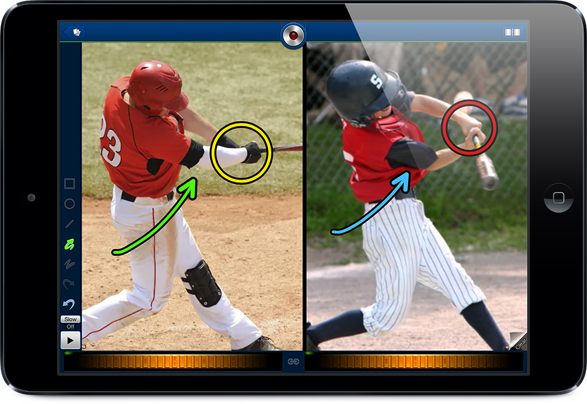 Coachs Eye Sports Video Analysis App Coach S Eye 3 0 Continues To Make Huge Improvements That Allow Coaches And Athletes Coaching Youth Sports Football Drills