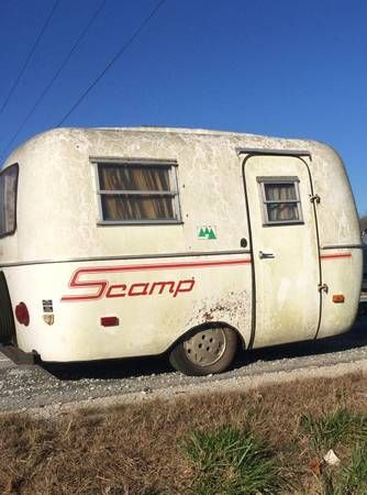 Vintage 1980 Scamp camper | Bloomington, IN | Fiberglass RV's For