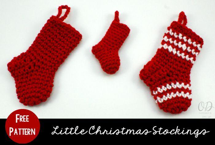 Little Christmas Stockings for Holiday Gift Giving | Pinterest