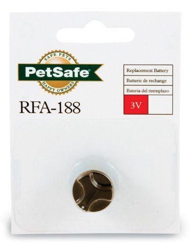 PetSafe 3Volt Lithium Battery Module, RFA188 http