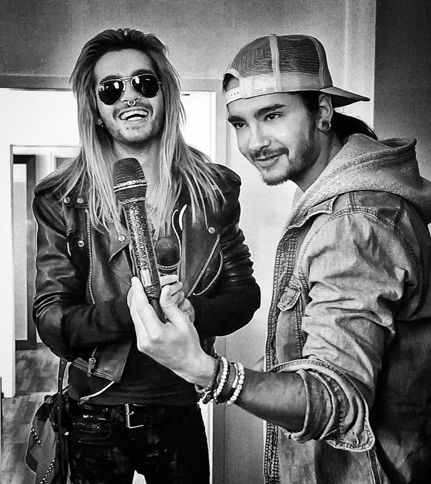 Tokio Hotel Bill Kaulitz and Tom
