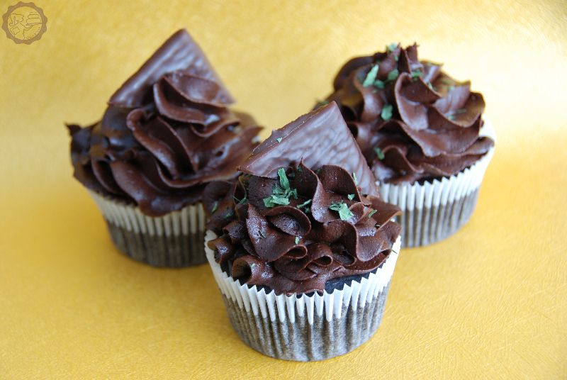 Chocolate Mint Cupcakes | MakeUrCake