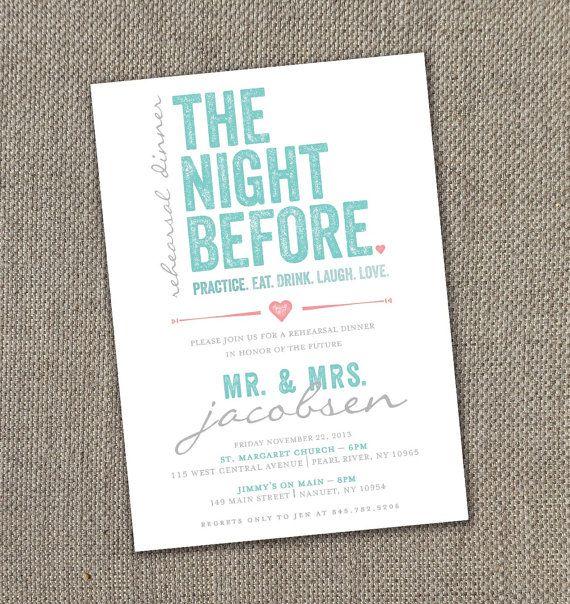 Pre Wedding Dinner Invitation: Rehearsal Dinner Invitation (Digital