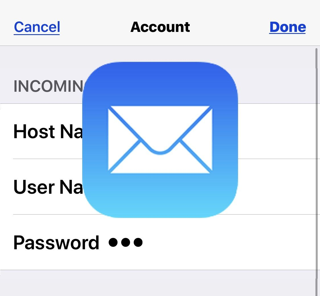 How to Update an Email Password on iPhone & iPad Iphone