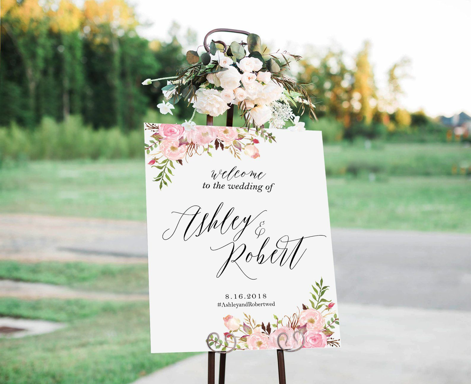 Wedding Welcome Sign Wedding Signs Couples Shower Sign Etsy Wedding Signs Diy Wedding Welcome Signs Large Wedding Signs