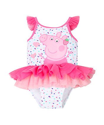 Peppa Pig Tutu Swimsuit Littleones Pinterest Peppa Pig Peppa