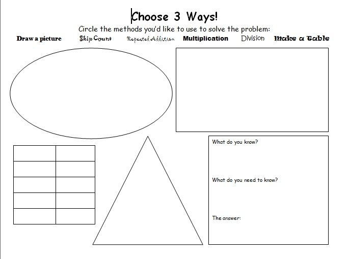 math worksheet : 1000 images about math problem solving on pinterest  word  : Math Problem Solving Strategies Worksheets