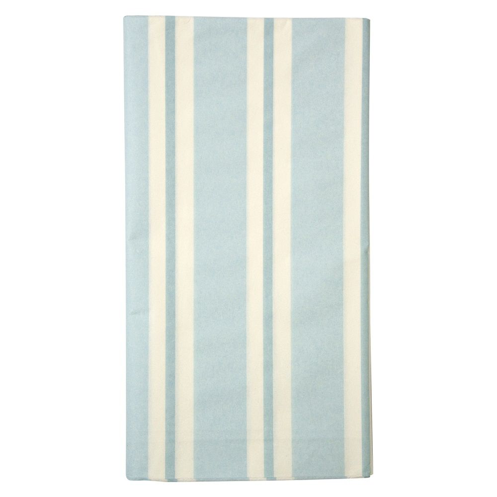 Baby Blue Tablecloth By Meri Meri Blue Tablecloth Striped Table Paper Tablecloth