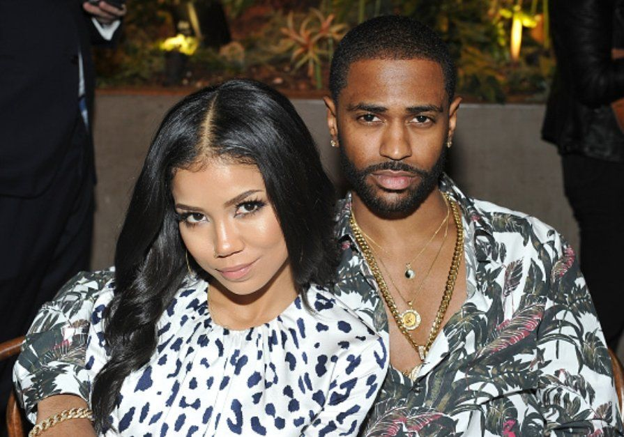 Big Sean and Jhene Aiko attend THR and Jimmy Choo's Power Stylists Dinner. (PICS)